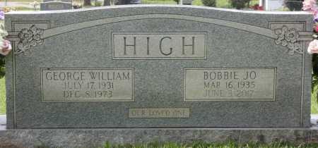 HIGH, BOBBIE JO - Lauderdale County, Alabama | BOBBIE JO HIGH - Alabama Gravestone Photos