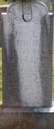HIGH, GEORGE P - Lauderdale County, Alabama   GEORGE P HIGH - Alabama Gravestone Photos