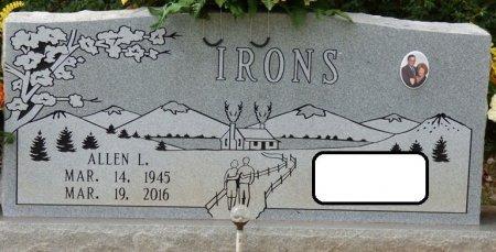 IRONS, ALLEN LENDON - Lauderdale County, Alabama   ALLEN LENDON IRONS - Alabama Gravestone Photos