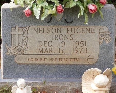 IRONS, NELSON EUGENE - Lauderdale County, Alabama   NELSON EUGENE IRONS - Alabama Gravestone Photos