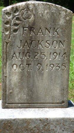 JACKSON, FRANK - Lauderdale County, Alabama | FRANK JACKSON - Alabama Gravestone Photos