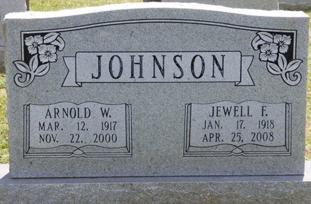 JOHNSON, ARNOLD W - Lauderdale County, Alabama | ARNOLD W JOHNSON - Alabama Gravestone Photos