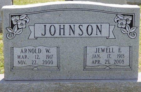JOHNSON, JEWELL F - Lauderdale County, Alabama | JEWELL F JOHNSON - Alabama Gravestone Photos