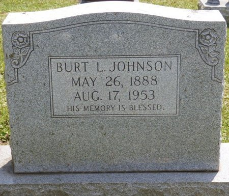 JOHNSON, BURT L - Lauderdale County, Alabama | BURT L JOHNSON - Alabama Gravestone Photos