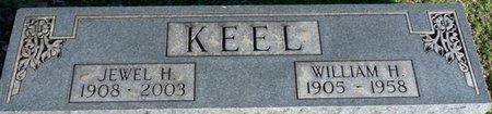 HINTON KEEL, JEWEL VIOLA - Lauderdale County, Alabama | JEWEL VIOLA HINTON KEEL - Alabama Gravestone Photos
