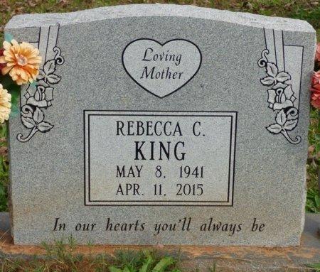 KING, REBECCA CORNELIA - Lauderdale County, Alabama | REBECCA CORNELIA KING - Alabama Gravestone Photos