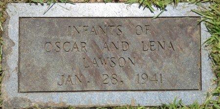 LAWSON, INFANTS - Lauderdale County, Alabama   INFANTS LAWSON - Alabama Gravestone Photos