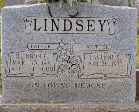 LINDSEY, QUINNON E - Lauderdale County, Alabama | QUINNON E LINDSEY - Alabama Gravestone Photos