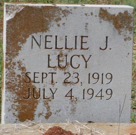 LUCY, NELLIE J - Lauderdale County, Alabama | NELLIE J LUCY - Alabama Gravestone Photos