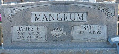 MITCHELL MANGUM, JESSIE OLENE - Lauderdale County, Alabama   JESSIE OLENE MITCHELL MANGUM - Alabama Gravestone Photos