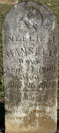 MANSELL, NELLIE MAE - Lauderdale County, Alabama   NELLIE MAE MANSELL - Alabama Gravestone Photos