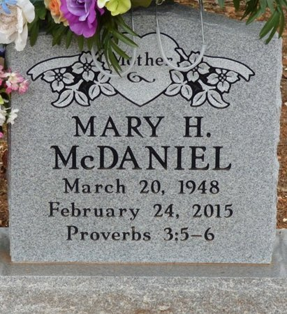 MCDANIEL, MARY HELEN - Lauderdale County, Alabama   MARY HELEN MCDANIEL - Alabama Gravestone Photos
