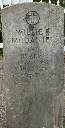 MCDANIEL (VETERAN), WILLIE B - Lauderdale County, Alabama | WILLIE B MCDANIEL (VETERAN) - Alabama Gravestone Photos