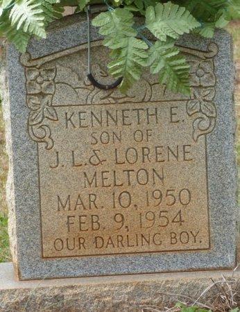 MELTON, KENNETH E - Lauderdale County, Alabama | KENNETH E MELTON - Alabama Gravestone Photos