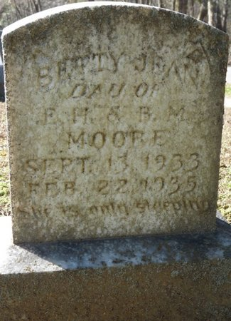 MOORE, BETTY JEAN - Lauderdale County, Alabama | BETTY JEAN MOORE - Alabama Gravestone Photos