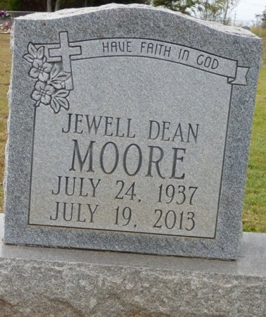 MOORE, JEWELL DEAN - Lauderdale County, Alabama | JEWELL DEAN MOORE - Alabama Gravestone Photos