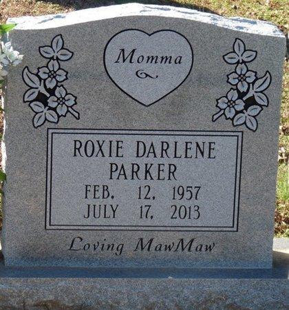 PARKER, ROXIE DARLENE - Lauderdale County, Alabama | ROXIE DARLENE PARKER - Alabama Gravestone Photos