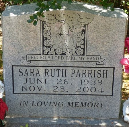 PARRISH, SARA RUTH - Lauderdale County, Alabama | SARA RUTH PARRISH - Alabama Gravestone Photos