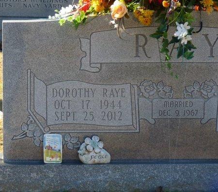 RAY, DOROTHY RAYE - Lauderdale County, Alabama | DOROTHY RAYE RAY - Alabama Gravestone Photos