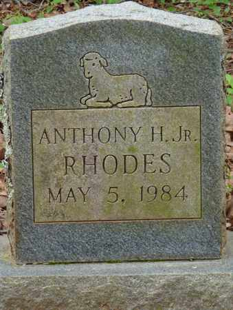 RHODES JR., ANTHONY H - Lauderdale County, Alabama | ANTHONY H RHODES JR. - Alabama Gravestone Photos