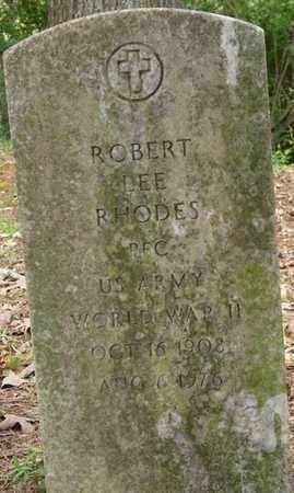RHODES (VETERAN WWII), ROBERT LEE - Lauderdale County, Alabama | ROBERT LEE RHODES (VETERAN WWII) - Alabama Gravestone Photos
