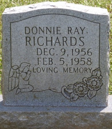 RICHARDS, DONNIE RAY - Lauderdale County, Alabama | DONNIE RAY RICHARDS - Alabama Gravestone Photos