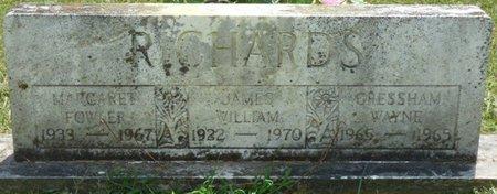 FOWLER RICHARDS, MARGARET - Lauderdale County, Alabama | MARGARET FOWLER RICHARDS - Alabama Gravestone Photos