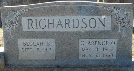 RICHARDSON, BEULAH B - Lauderdale County, Alabama | BEULAH B RICHARDSON - Alabama Gravestone Photos