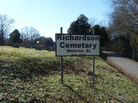 *RICHARDSON, CEMETERY - Lauderdale County, Alabama   CEMETERY *RICHARDSON - Alabama Gravestone Photos
