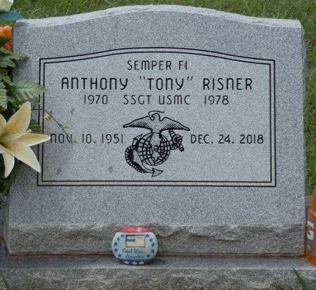 "RISNER, ANTHONY WINSTON ""TONY"" - Lauderdale County, Alabama | ANTHONY WINSTON ""TONY"" RISNER - Alabama Gravestone Photos"