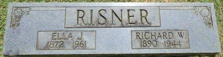 RISNER, ELLA J - Lauderdale County, Alabama | ELLA J RISNER - Alabama Gravestone Photos
