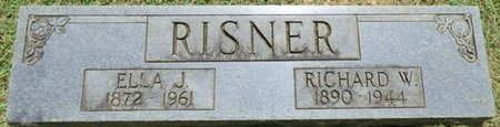 RISNER, RICHARD W - Lauderdale County, Alabama | RICHARD W RISNER - Alabama Gravestone Photos