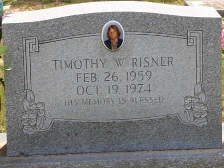 RISNER, TIMOTHY W - Lauderdale County, Alabama | TIMOTHY W RISNER - Alabama Gravestone Photos