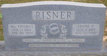 RISNER, WILLIAM THOMAS - Lauderdale County, Alabama | WILLIAM THOMAS RISNER - Alabama Gravestone Photos