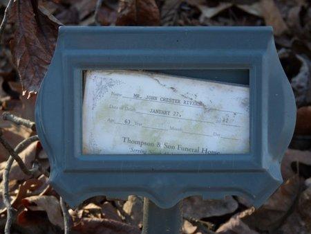 "RIVERS, JOHN CHESTER ""J.C."" - Lauderdale County, Alabama | JOHN CHESTER ""J.C."" RIVERS - Alabama Gravestone Photos"