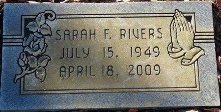RIVERS, SARAH F - Lauderdale County, Alabama   SARAH F RIVERS - Alabama Gravestone Photos