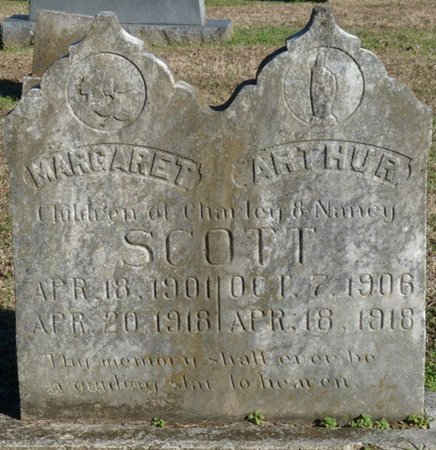SCOTT, ARTHUR - Lauderdale County, Alabama | ARTHUR SCOTT - Alabama Gravestone Photos