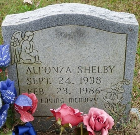 SHELBY, ALFONZA - Lauderdale County, Alabama | ALFONZA SHELBY - Alabama Gravestone Photos