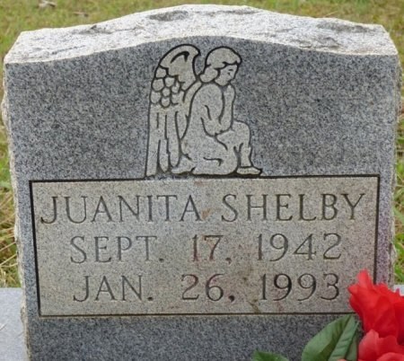 SHELBY, JUANITA - Lauderdale County, Alabama | JUANITA SHELBY - Alabama Gravestone Photos