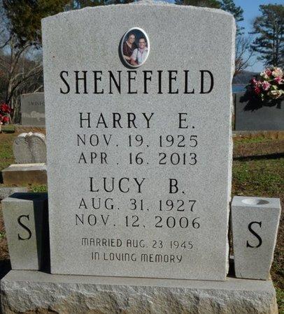 SHENEFIELD, HARRY EUGENE - Lauderdale County, Alabama | HARRY EUGENE SHENEFIELD - Alabama Gravestone Photos