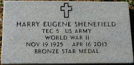 SHENEFIELD (VETERAN WWII), HARRY EUGENE - Lauderdale County, Alabama | HARRY EUGENE SHENEFIELD (VETERAN WWII) - Alabama Gravestone Photos