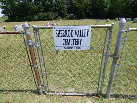 *SHERROD VALLEY, CEMETERY - Lauderdale County, Alabama   CEMETERY *SHERROD VALLEY - Alabama Gravestone Photos