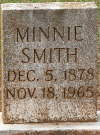 SMITH, MINNIE - Lauderdale County, Alabama | MINNIE SMITH - Alabama Gravestone Photos
