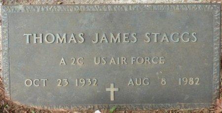 STAGGS (VETERAN), THOMAS JAMES (NEW) - Lauderdale County, Alabama | THOMAS JAMES (NEW) STAGGS (VETERAN) - Alabama Gravestone Photos