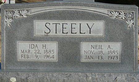STEELY, IDA H - Lauderdale County, Alabama | IDA H STEELY - Alabama Gravestone Photos