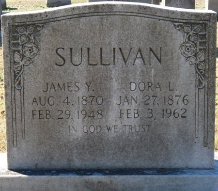 SULLIVAN, JAMES Y - Lauderdale County, Alabama | JAMES Y SULLIVAN - Alabama Gravestone Photos