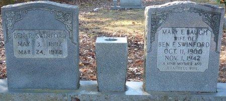 SWINFORD, BENJAMIN FRANKLIN - Lauderdale County, Alabama | BENJAMIN FRANKLIN SWINFORD - Alabama Gravestone Photos
