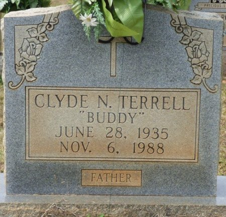 """TERRELL, CLYDE N """"BUDDY"""" - Lauderdale County, Alabama 