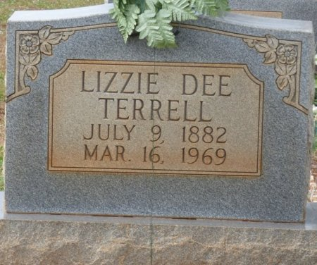 TERRELL, LIZZIE DEE - Lauderdale County, Alabama | LIZZIE DEE TERRELL - Alabama Gravestone Photos