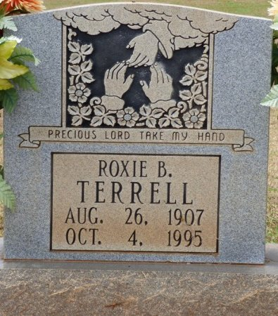 TERRELL, ROXIE B - Lauderdale County, Alabama | ROXIE B TERRELL - Alabama Gravestone Photos